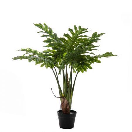 Διακοσμητικό τεχνητό φυτό Σέλλουμ σε γλάστρα 80cm