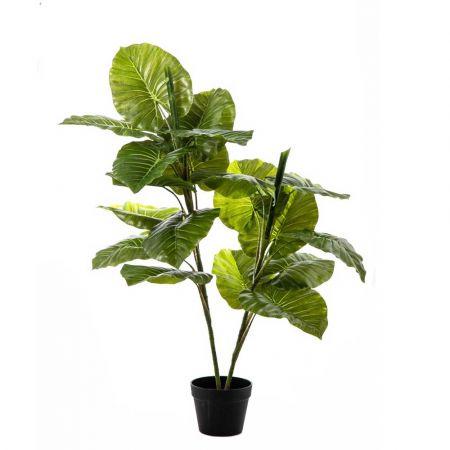 Διακοσμητικό τεχνητό φυτό Συγκόνιουμ σε γλάστρα 120cm