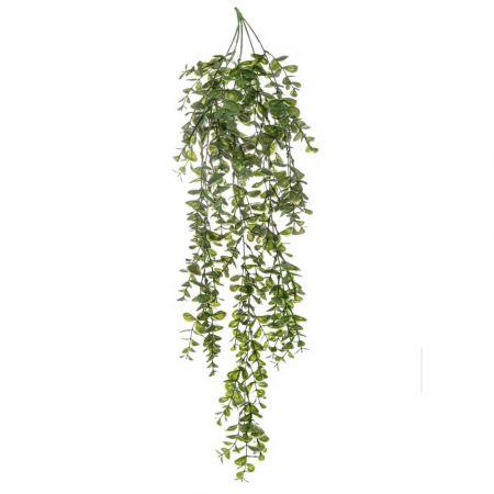 Τεχνητό κρεμαστό κλαδί Ευκάλυπτου Πράσινο 80cm