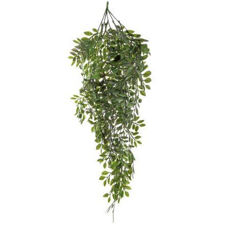 Τεχνητό κρεμαστό κλαδί Ευκάλυπτου Πράσινο 60cm