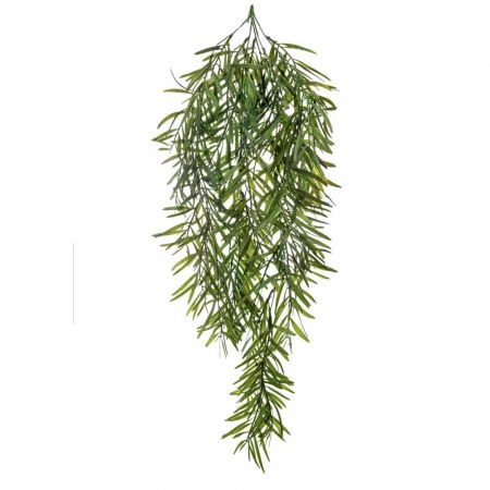 Τεχνητό κρεμαστό κλαδί Μπαμπού Πράσινο 80cm