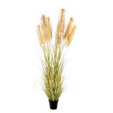 Διακοσμητικό τεχνητό φυτό Pampas Grass σε γλάστρα τιμή