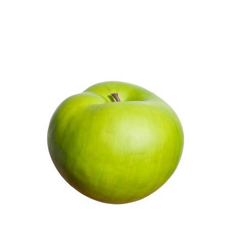 XL Διακοσμητικό Μήλο κατασκευασμένο από σκληρό αφρώδες υλικό - βαμμένο και περασμένο με βερνίκι.