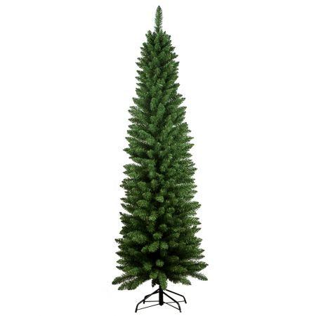 Χριστουγεννιάτικο δέντρο - έλατο Slim PVC 240cm