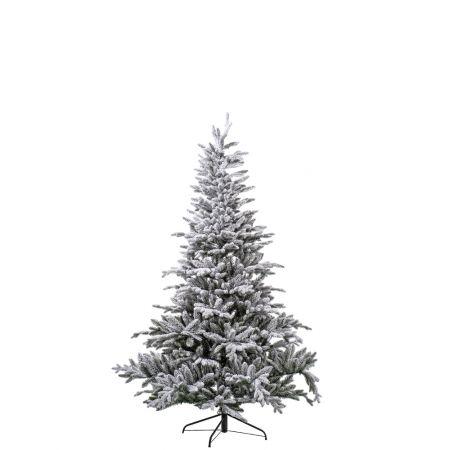 Χριστουγεννιάτικο δέντρο - έλατο Χιονισμένο Ambassador PVC 180cm