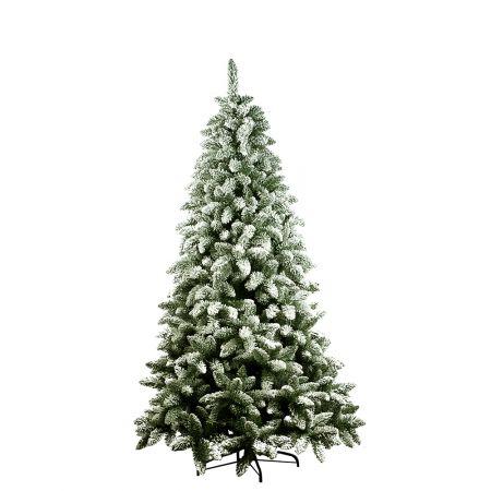 Χριστουγεννιάτικο δέντρο - έλατο Χιονισμένο Courmayeur PVC 210cm