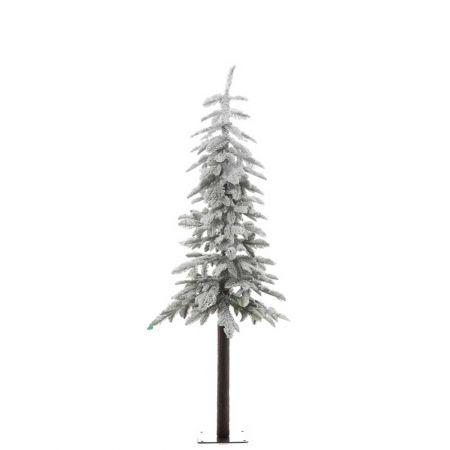 Χριστουγεννιάτικο δέντρο χιονισμένο με ψηλό κορμό 180cm