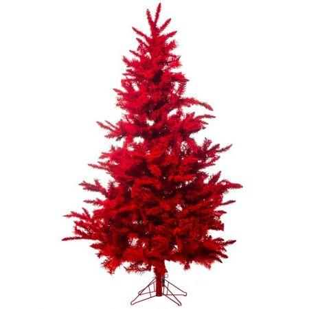 Χριστουγεννιάτικο δέντρο Κόκκινο 210cm