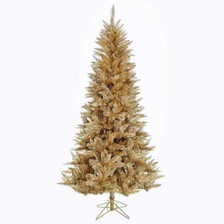 Χριστουγεννιάτικο δέντρο - έλατο Vermont Χρυσό 210cm