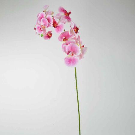 Διακοσμητική Ορχιδέα Ροζ (Natural Touch) 97cm