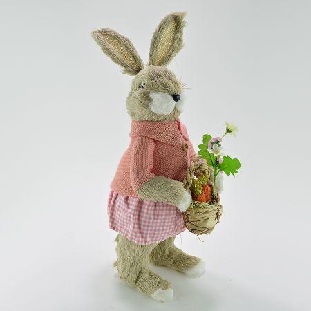 Διακοσμητικό Κουνελάκι Πασχαλινό - Κοριτσάκι 60cm