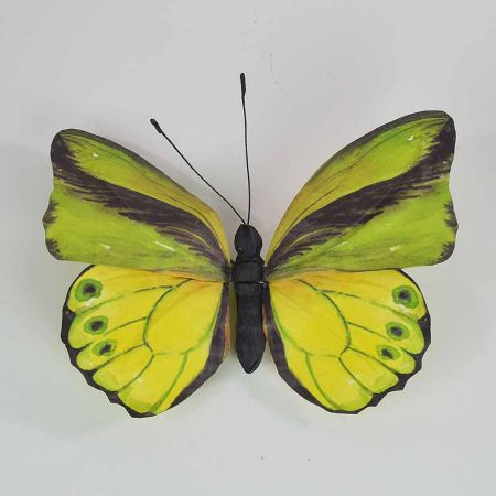Διακοσμητική πεταλούδα Πράσινη 50x47x5cm