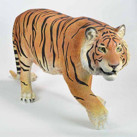 Διακοσμητική τίγρης Polyresin 135x26x62cm