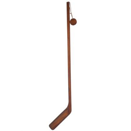 Διακοσμητικό ξύλινο μπαστούνι ice hockey 126x26x2.5cm