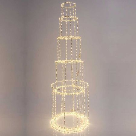 Φωτιζόμενος πύργος 4650LED 163x40cm