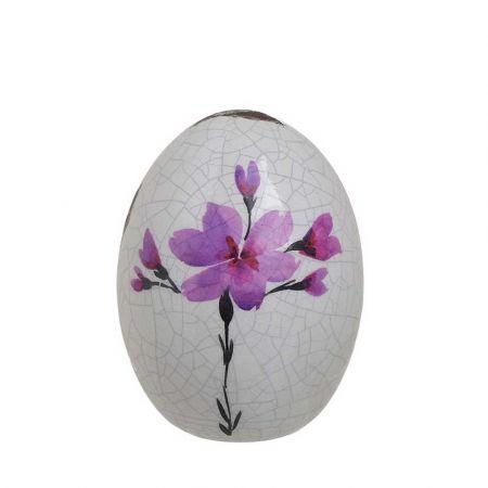 Διακοσμητικό αυγό Polyresin 10,5x15cm InArt 1-70-964-0001