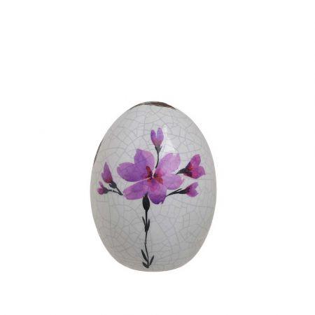 Διακοσμητικό αυγό Polyresin 7x9cm InArt 1-70-964-0005