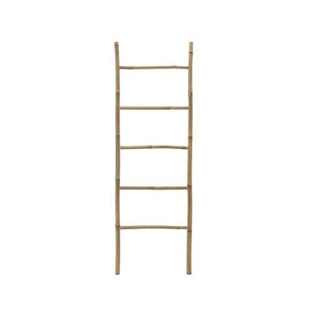 Διακοσμητική Σκάλα Μπαμπού - 6 Πατήματα Φυσικό 190x50cm