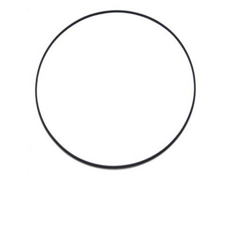 Διακοσμητικός μεταλλικός Κρίκος Μαύρος 40cm