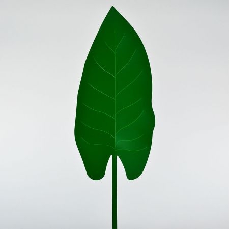 Τροπικό Φύλλο PVC Πράσινο σκούρο 63x21cm
