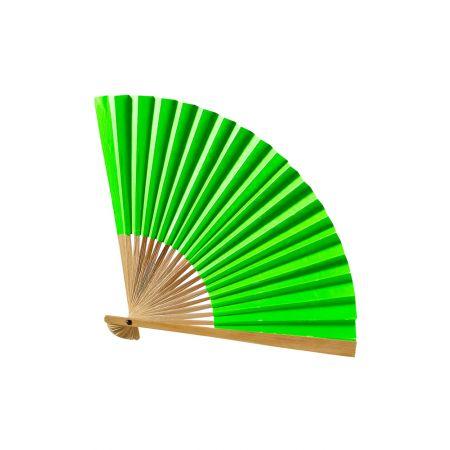 Διακοσμητική βεντάλια χάρτινη Πράσινη 42cm
