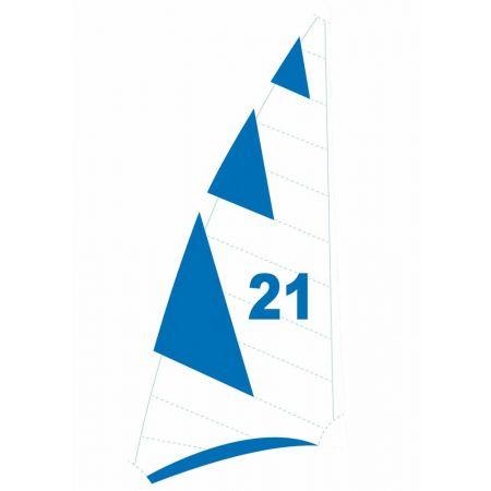 Διακοσμητικό πανί ιστιοπλοΐας - windsurf 200x90cm