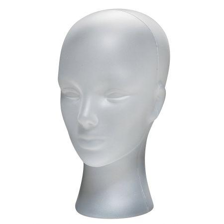 Διακοσμητικό Κεφάλι Γυναικείο Λευκό πάγου 30cm