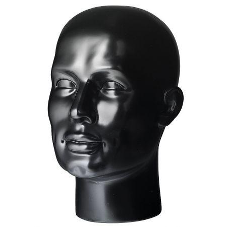 Διακοσμητικό Κεφάλι Ανδρικό Μαύρο 30cm