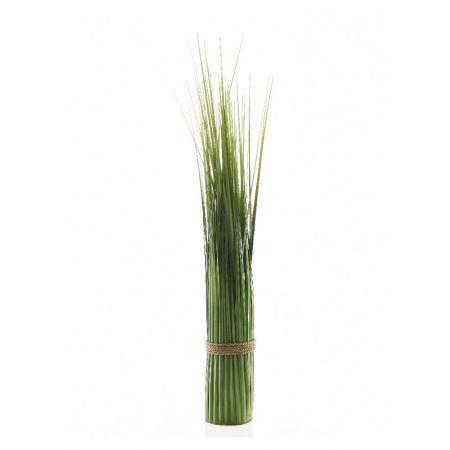 Διακοσμητική δέσμη με γρασίδι Πράσινη 80cm