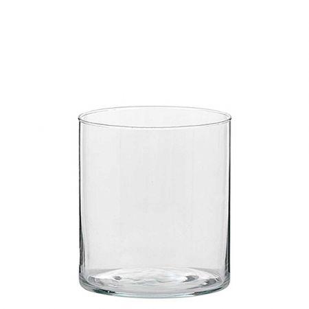 Διακοσμητικό Βάζο Κύλινδρος γυάλινο 30x50cm