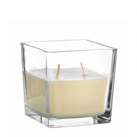 Αρωματικό κερί βανίλια σε γυάλινο βάζο 500gr / 12x12cm