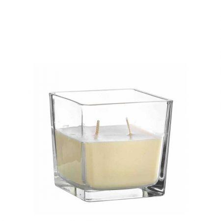 Αρωματικό κερί βανίλια σε γυάλινο βάζο 300gr / 10x10cm