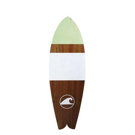 Διακοσμητική σανίδα του Surf ξύλινη 130x40cm
