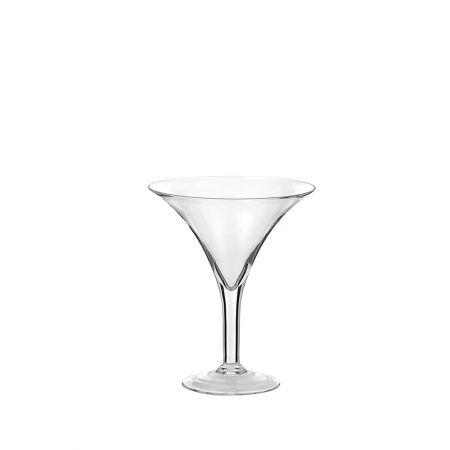 Διακοσμητικό γυάλινο Bάζο - Ποτήρι Martini 25x30cm
