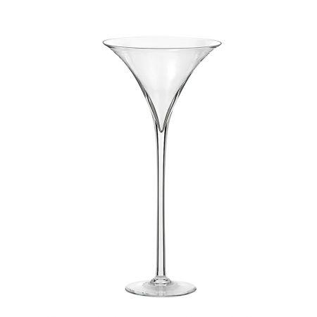 Διακοσμητικό γυάλινο Bάζο - Ποτήρι Martini 35x90cm
