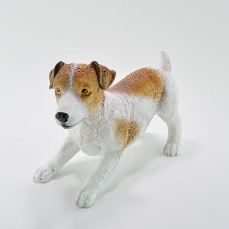 Διακοσμητικός σκύλος Τζακ Ράσελ 37x17x24cm