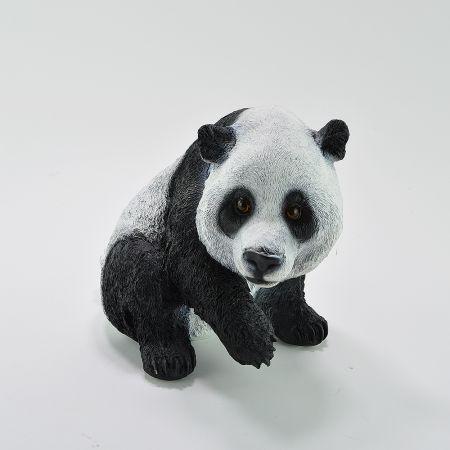 Διακοσμητικό αρκουδάκι Πάντα καθιστό 31x18x24cm