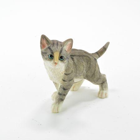 Διακοσμητικό γατάκι όρθιο Polyresin 15x7x12cm