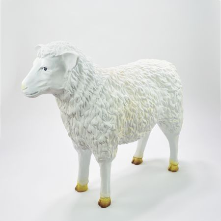 Διακοσμητικό πρόβατο Polyresin 76x26x62cm