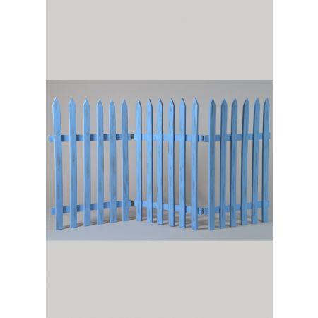 Διακοσμητικός φράκτης 60x120cm - Γαλάζιο