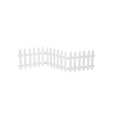 Διακοσμητικός φράκτης 30x120cm - Λευκό