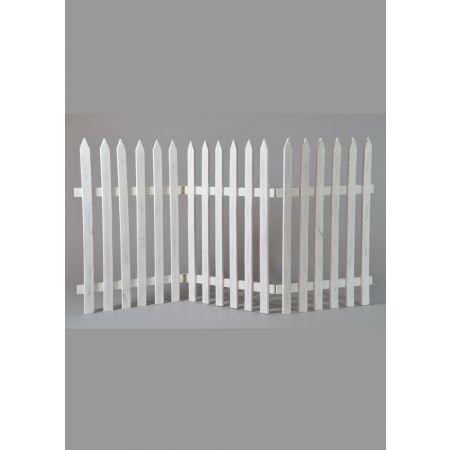 Διακοσμητικός φράκτης 60x120cm - Λευκό