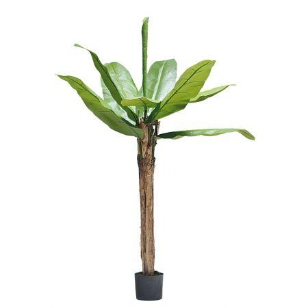 Διακοσμητικό τεχνητό δέντρο μπανανιά σε γλάστρα 150cm