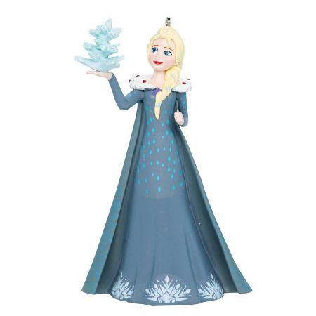 Αυθεντικό Χριστουγεννιάτικο στολίδι Disney© - Elsa Frozen 11x8,5x6,5cm