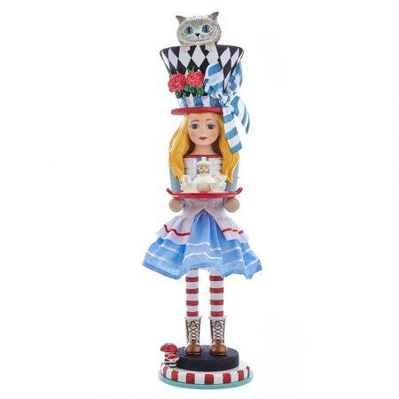 Αυθεντική Χριστουγεννιάτικη φιγούρα Hollywood Alice - Καρυοθραύστης 48cm
