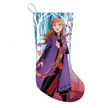 Αυθεντική Χριστουγεννιάτικη κάλτσα Disney© - Anna - Frozen 2 48cm