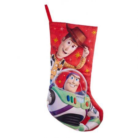 Αυθεντική Χριστουγεννιάτικη κάλτσα Disney© - Woody Buzz Toy Story 48cm
