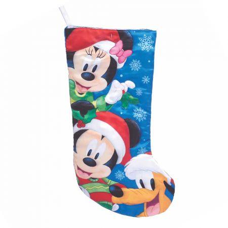 Αυθεντική Χριστουγεννιάτικη κάλτσα Disney© - Mickey Minnie Pluto 48cm
