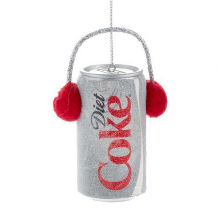 Αυθεντικό Χριστουγεννιάτικο στολίδι κουτάκι Diet Coca-Cola® με ακουστικά 8cm
