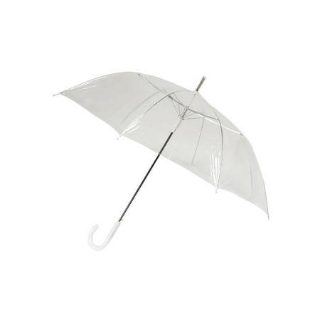 Διακοσμητική ομπρέλα αυτόματη Διάφανη 100x80cm